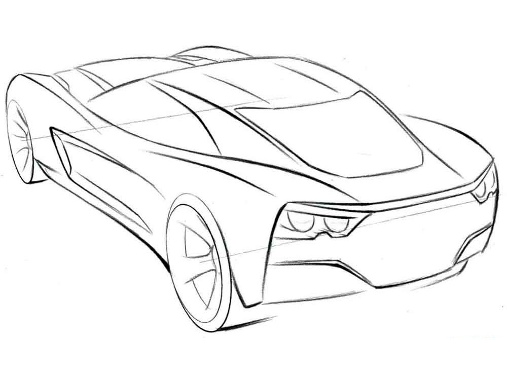 Expensive Car Coloring Pages Coloring Pages