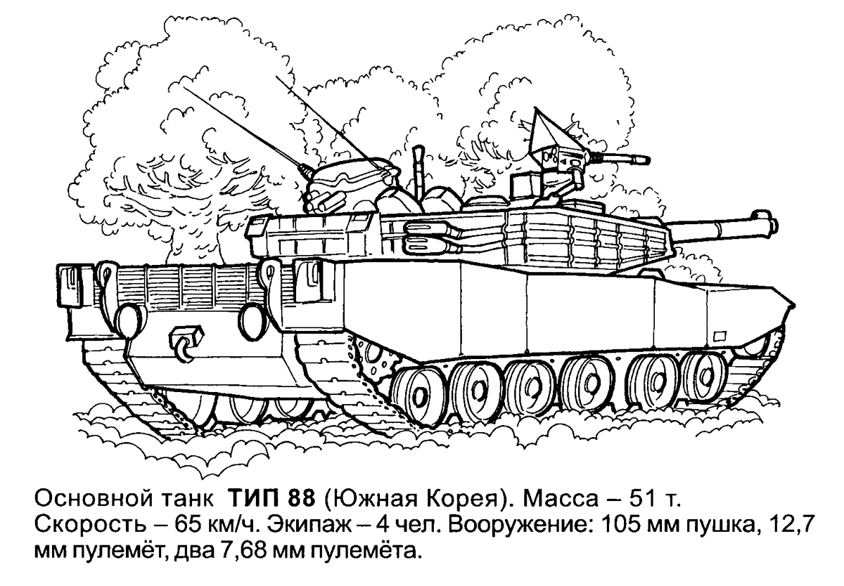 tank coloring page decimamas - Army Tank Coloring Pages Print
