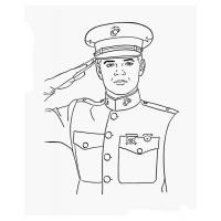 Soldier coloring pages