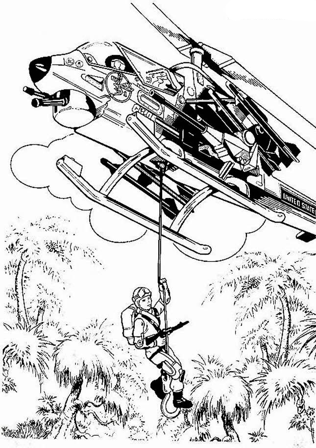 joe coloring pages