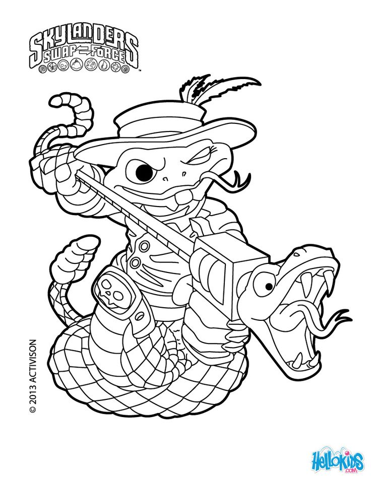 loop coloring pages
