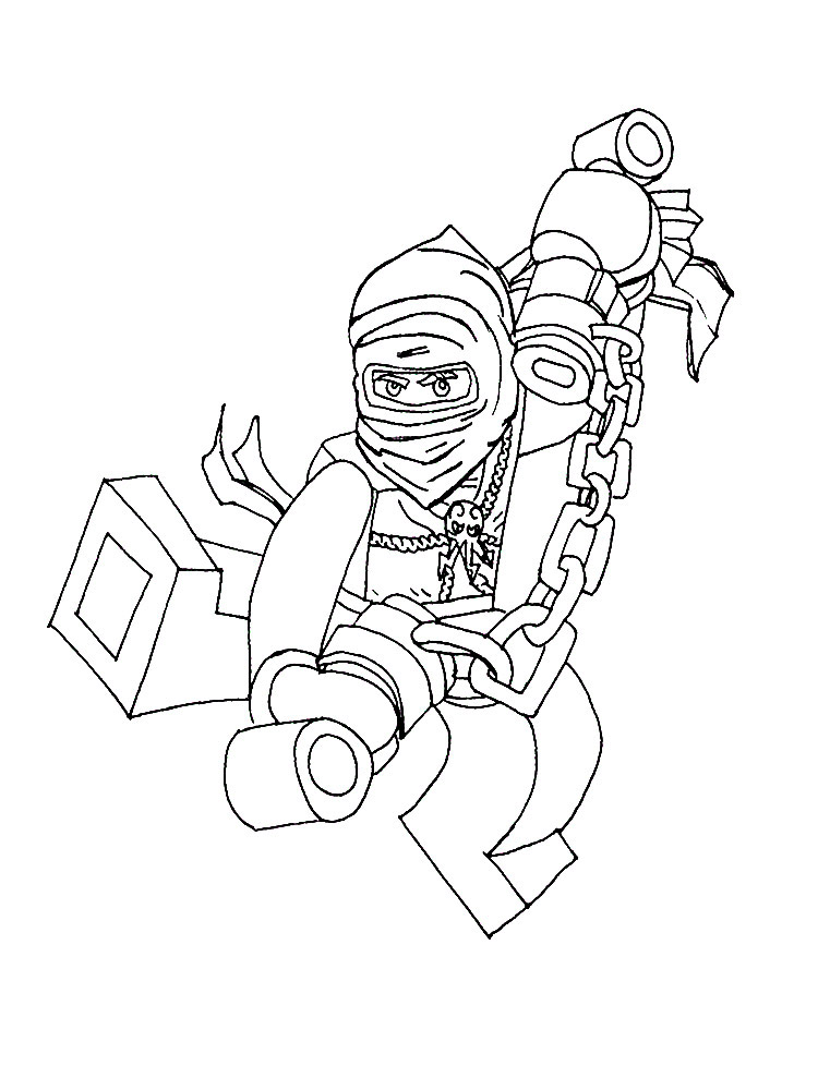 NINJAGO Coloring Pages Color Online Free Printable