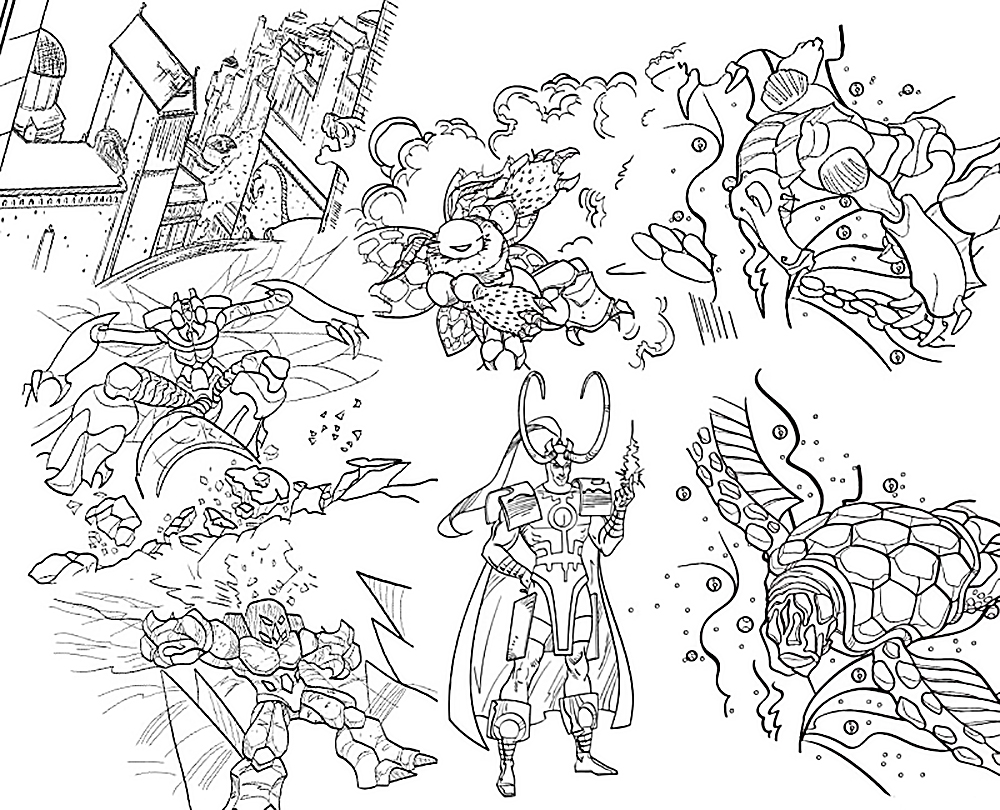 bionicle coloring pages printable vosvetenet - Bionicle Coloring Pages Printable