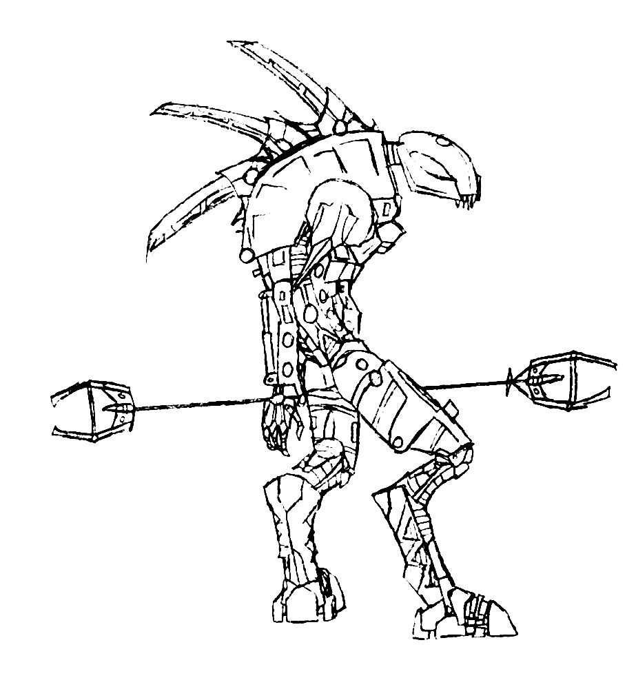 coloring pages bionicle coloring pages to print breadedcat free