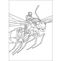 Ant-Man coloring pages
