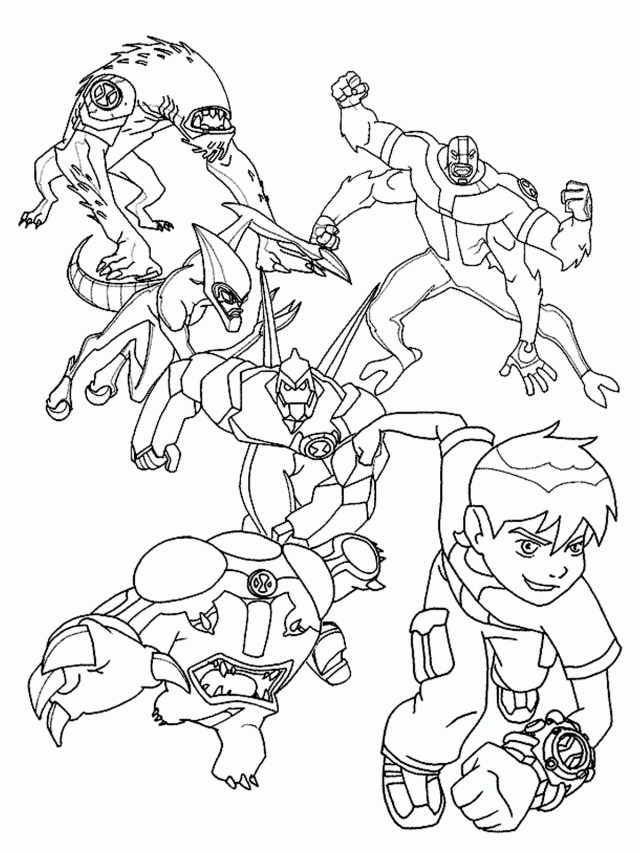 alien coloring pages for teens - photo#19