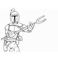 Boba Fett Coloring Pages