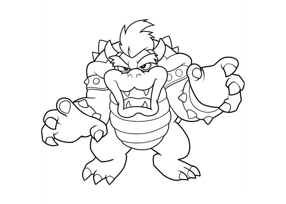 Dibujos De Super Mario Para Colorear E Imprimir 2: Super Mario Bros Coloring Pages