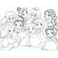 Cute disney coloring pages
