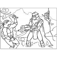Ninja turtles coloring pages