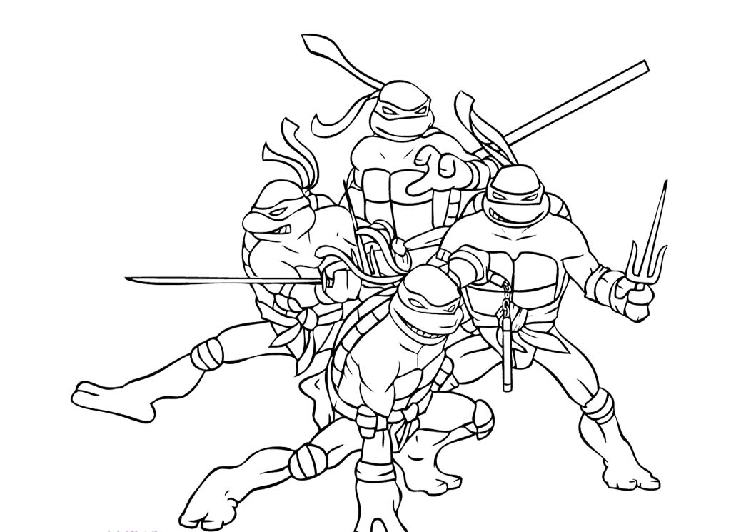 ninja turtles coloring pages - Lego Ninja Turtles Coloring Pages