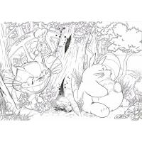 Totoro coloring pages