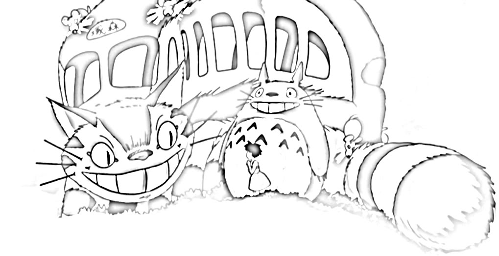 Coloring Pages Spirited Away Coloring Pages