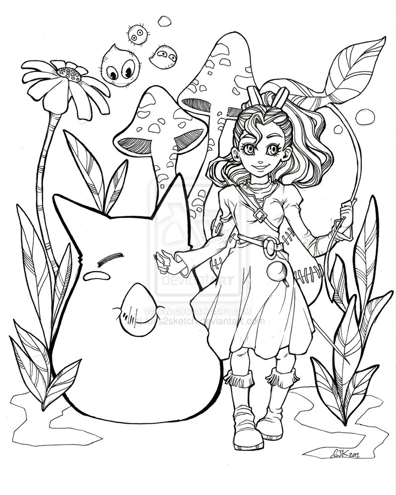 Unusual My Neighbor Totoro Coloring Pages Gallery - Professional ...