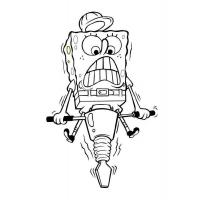 Spongebob coloring pages