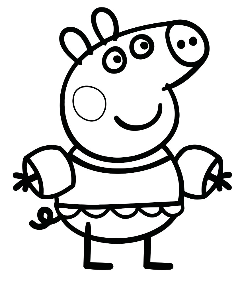 Pig coloring pages