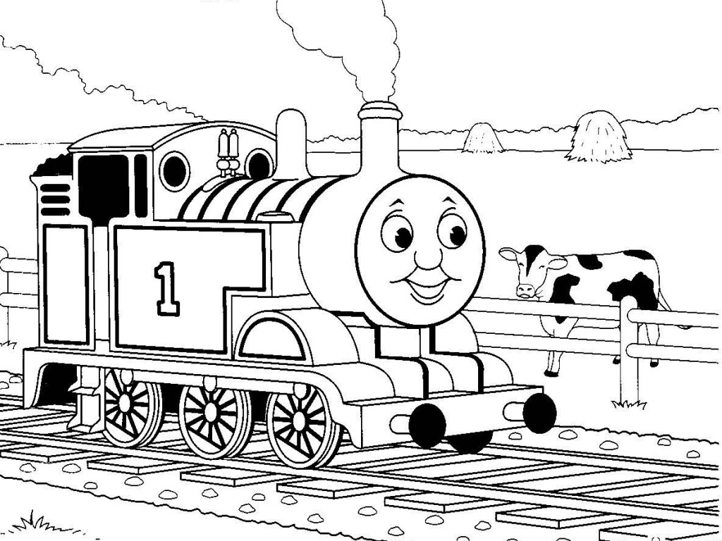 Thomas The Train Coloring Pages Entrancing The Tank Engine Coloring Pages