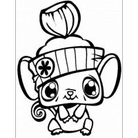 Pet shop coloring pages