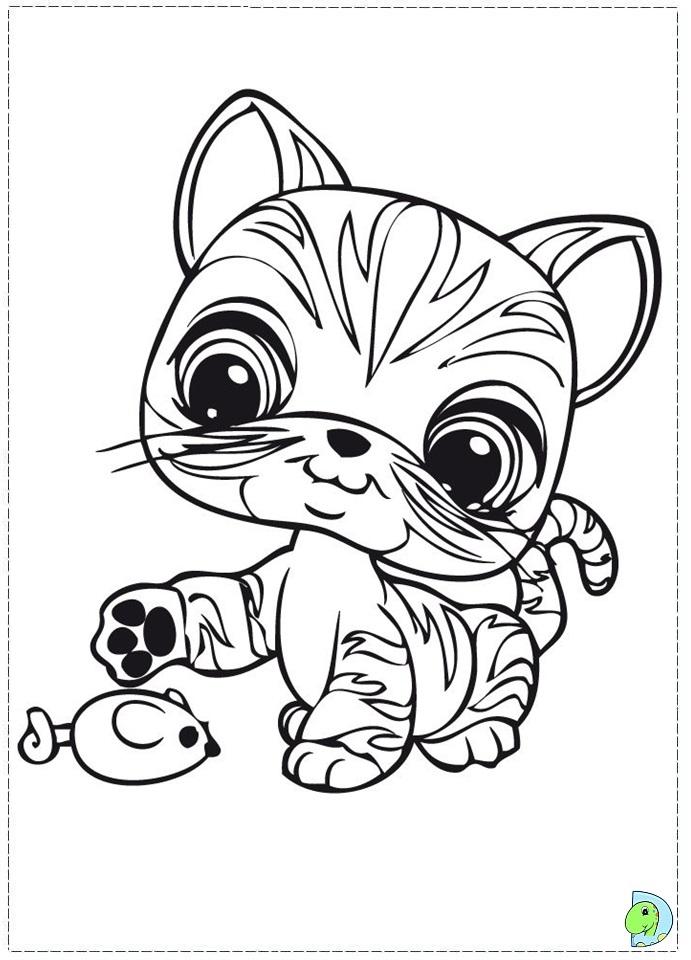 pet shop coloring pages - Lps Coloring Book