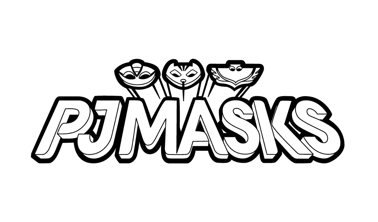 masks coloring pages