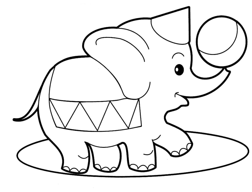 cartoon animal coloring pages - Animal Coloring Pages