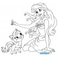 Disney pets coloring pages