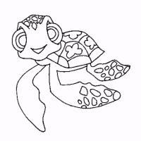 Crush and squirt coloring pages