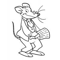 Geronimo stilton coloring pages