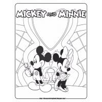Mickey mouse clubhouse coloring pages