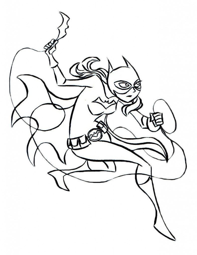 Zurg coloring pages printable - Batgirl Coloring Pages