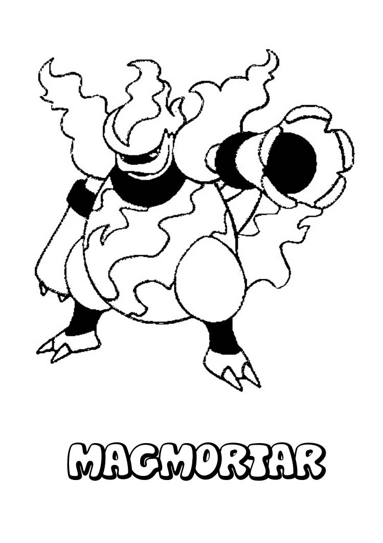 Pokemon coloring pages swampert - Vulpix Coloring Pages