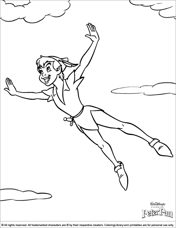 pan coloring pages
