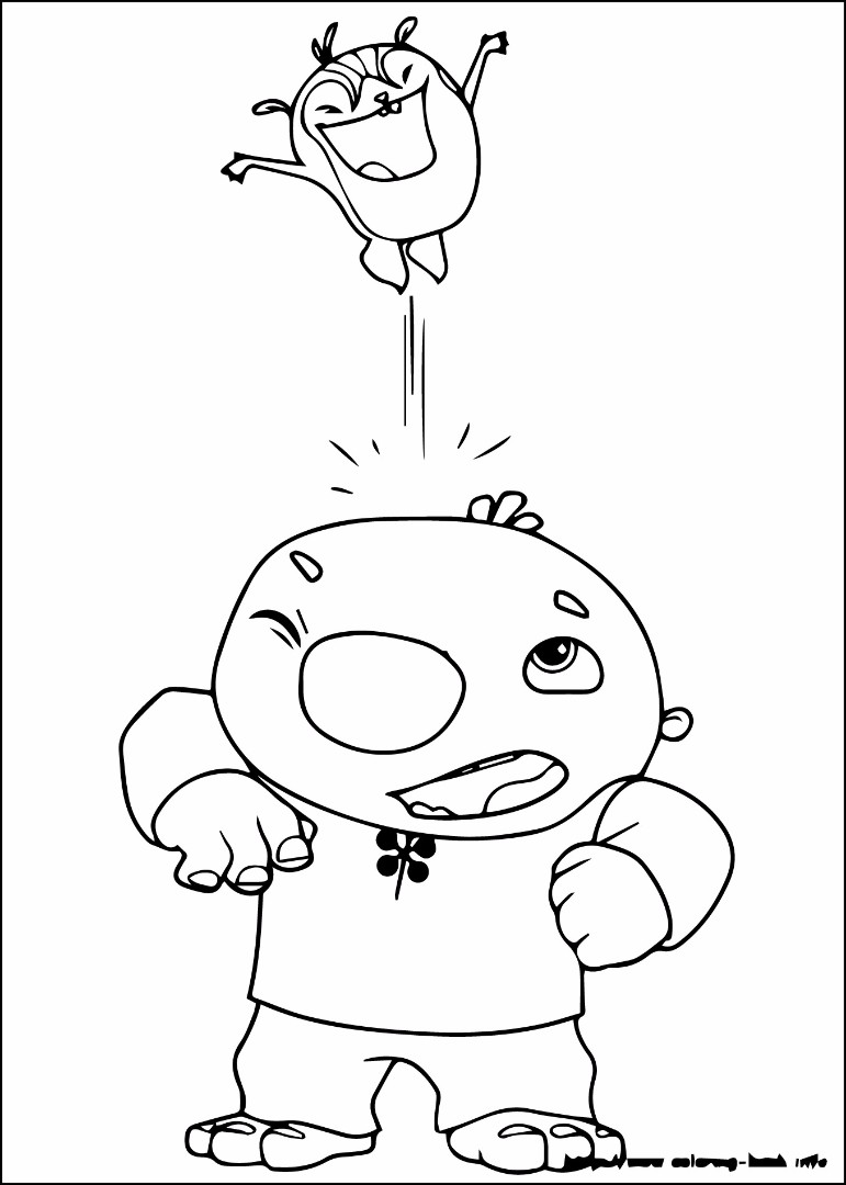 wally coloring pages | Wallykazam coloring pages