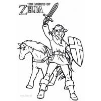 Link coloring pages