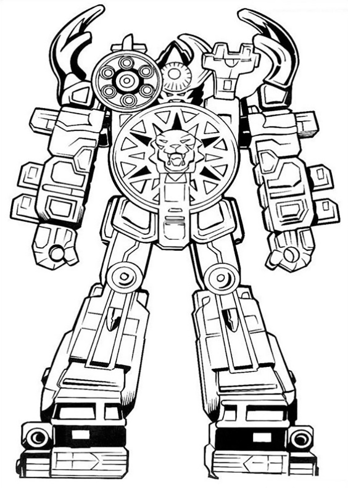 red power rangers coloring pages - Blue Power Rangers Coloring Pages