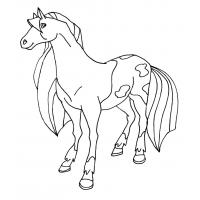 Horseland coloring pages