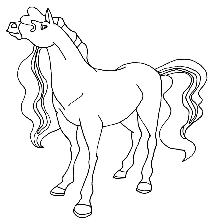 Horseland Coloring Pages Coloring Pages