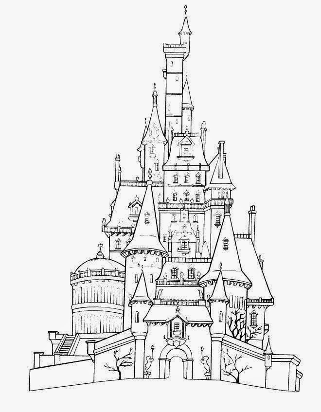 walt disney world coloring pages fun color page - Disney World Coloring Pages Print