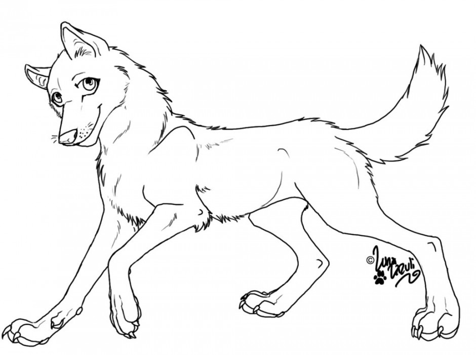 Balto coloring pages