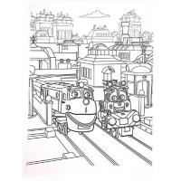 Chuggington coloring pages