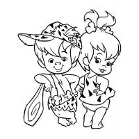 Flintstones coloring pages