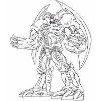 Yu gi oh coloring pages