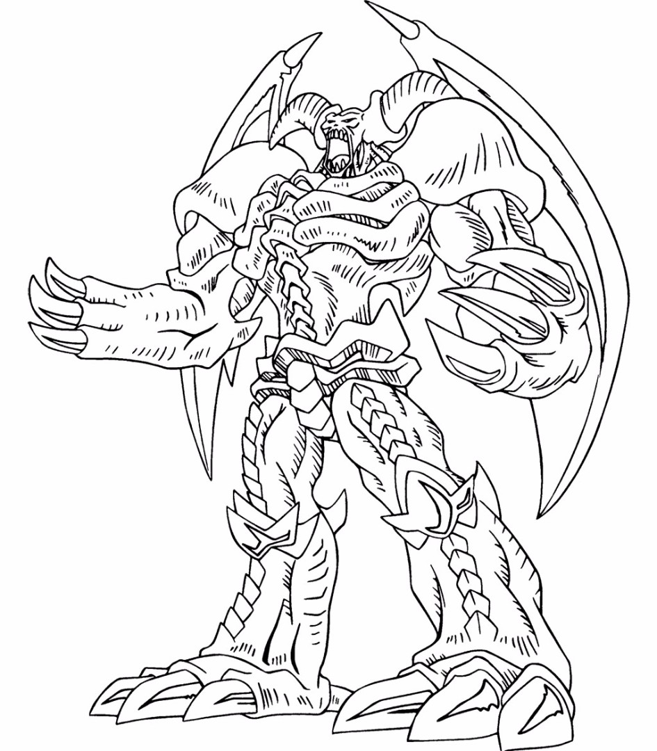 gi oh coloring pages
