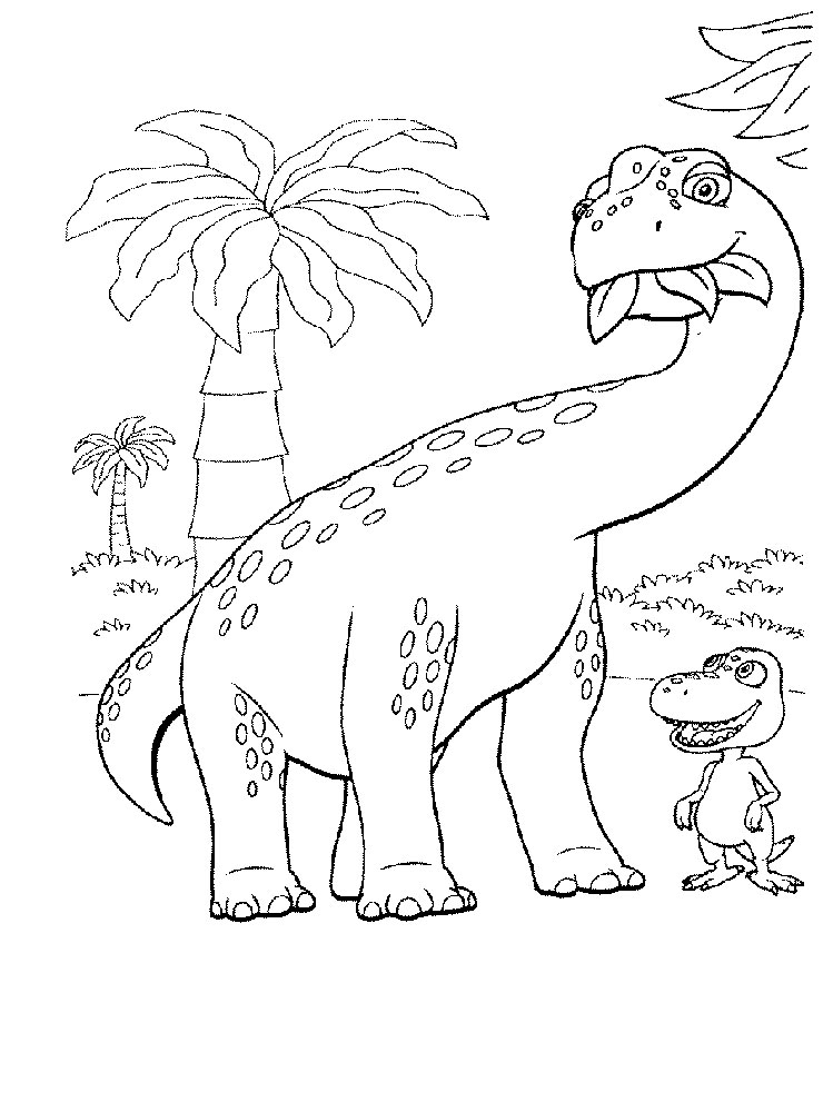 dinosaur train coloring pages - Train Coloring Pages 2