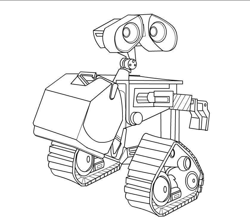 wall e coloring pages - Icarly Coloring Pages To Print