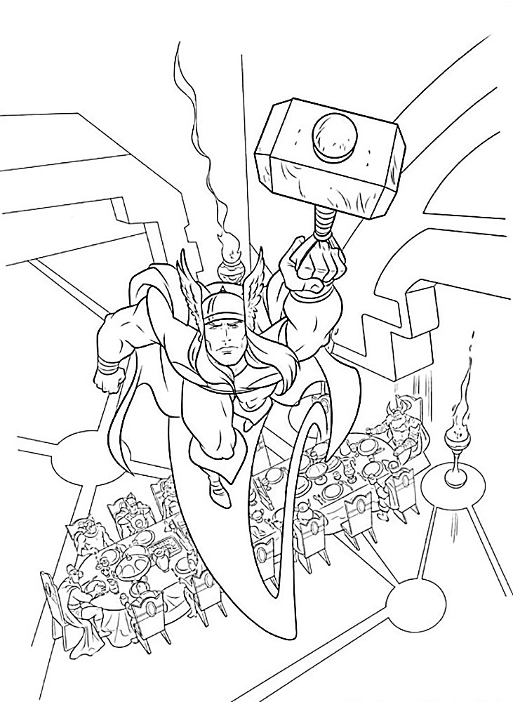 grotle coloring pages | Avengers coloring pages