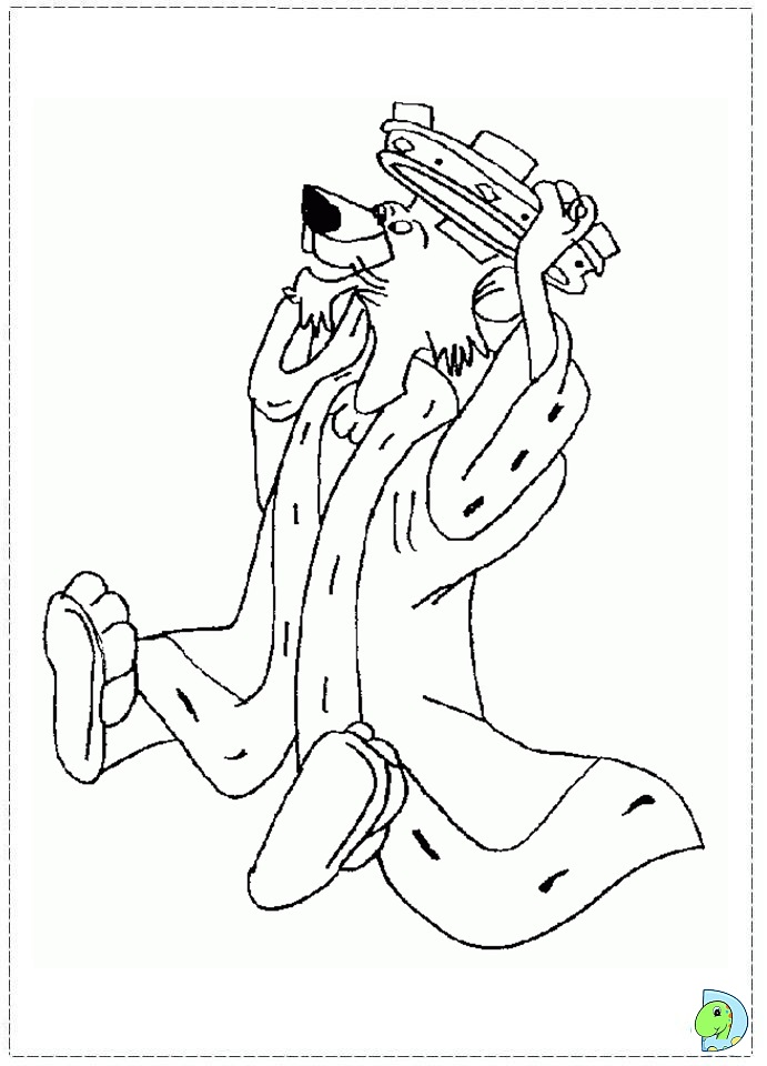 robin hood coloring pages - Disney Robin Hood Coloring Pages