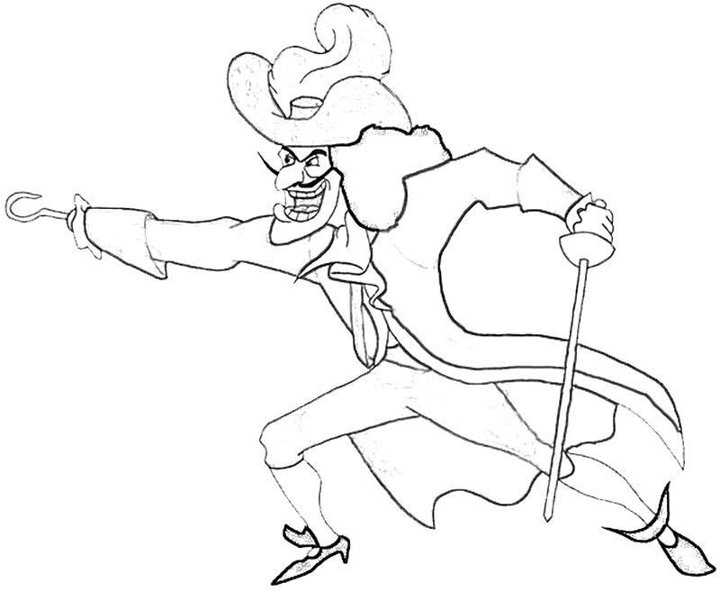 hook coloring pages