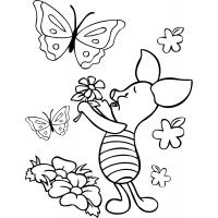 Piglet coloring pages