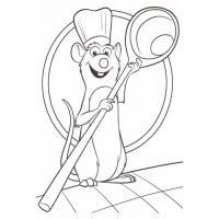 Ratatouille coloring pages